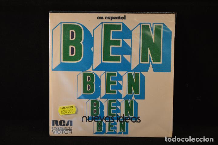 NUEVAS IDEAS - BEN / ME TIENES PENDIENTE DE TI - SINGLE (Música - Discos - Singles Vinilo - Funk, Soul y Black Music)