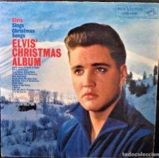 Discos de vinilo: ELVIS CHRISTMAS ALBUM / LP 33 RPM - DISCO DE VINILO - ELVIS PRESLEY, WHITE CRHRISTMAS, SILENT NIGHT.. Lote 89307540