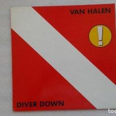 Discos de vinilo: VAN HALEN - DIVER DOWN LP 1982 EDICION ALEMANA. Lote 89308924