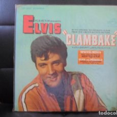 Discos de vinilo: ELVIS PRESLEY LP/ CLAMBAKE - LSP -3893 - 1ªED.USA - DISCO DE VINILO. Lote 89167180