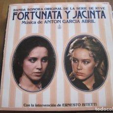 Discos de vinilo: ANTÓN GARCÍA ABRIL - FORTUNATA Y JACINTA - LP HISPAVOX 1980. Lote 89349680