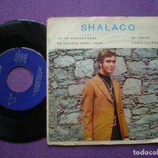 Discos de vinilo: SHALACO - YO TE ENCONTRARE +3 -EP BARNAFON / ESTUDIOS AKAI. Lote 89353300