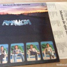 Discos de vinilo: ALMANZORA. MUÑECA DE OJOS OSCUROS. COLUMBIA 1979. ENCARTE CON LETRAS.. Lote 89359792