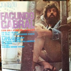 Disques de vinyle: FACUNDO CABRAL-CON UNA FLOR EN LA MANO-1972-VINILO NUEVO. Lote 149047968