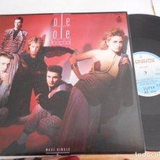 Discos de vinilo: OLE OLE-MAXI LILI MARLEN- 1986. Lote 154203917