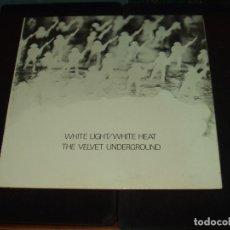 Discos de vinilo: VELVET UNDERGROUND LP WHITE LIGHT/WHITE HEAT. Lote 89377520