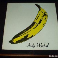 Discos de vinilo: VELVET UNDERGROUND & NICO LP ANDY WARHOL. Lote 89378712
