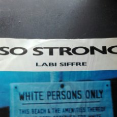 Discos de vinilo: LABI SIFFRE SO STRONG. Lote 89382452