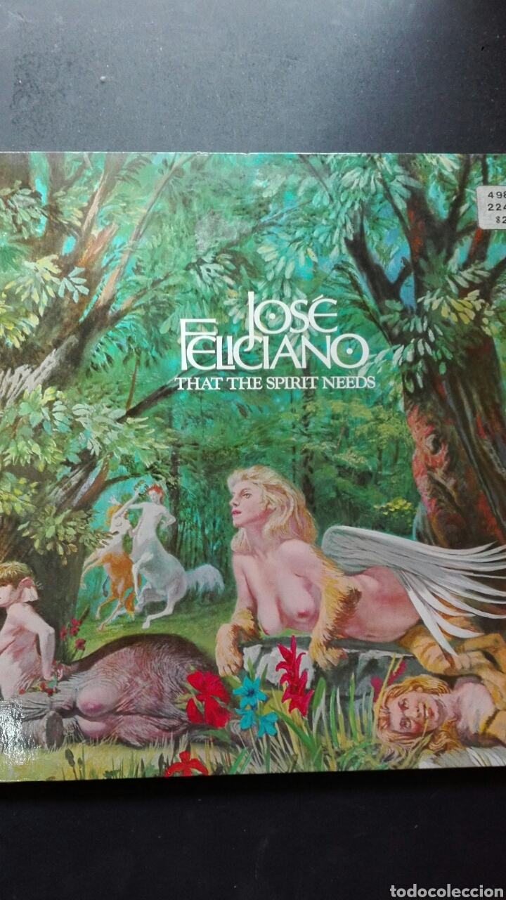 JOSÉ FELICIANO THAT SPIRIT NET RCA NEW YORK (Música - Discos - LP Vinilo - Cantautores Españoles)