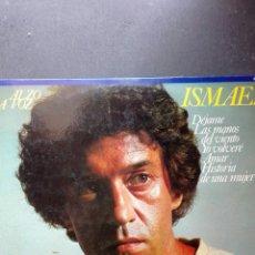 Discos de vinilo: ISMAEL ALZO LA VOZ DISTRIBUYE CAUDAL 1978. Lote 89382866