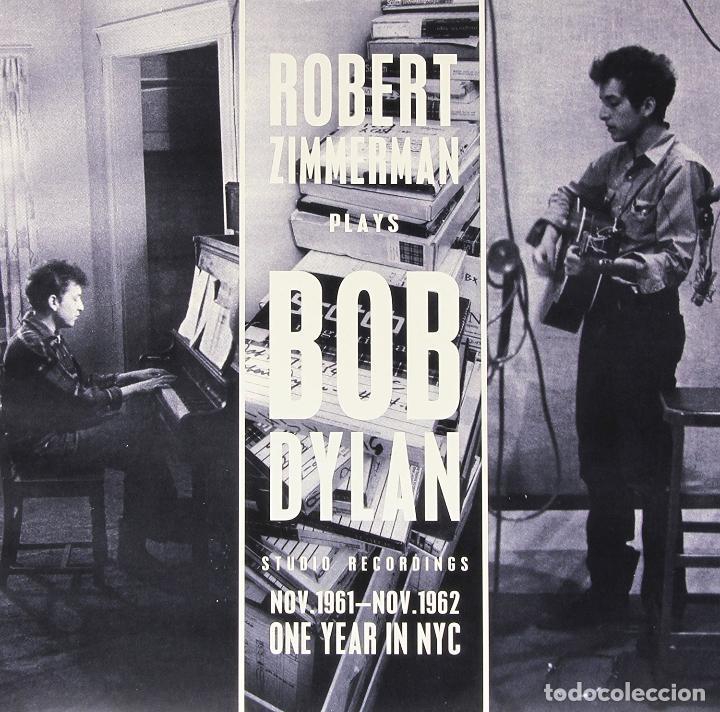 BOB DYLAN * LP 180G * ROBERT ZIMMERMAN BOB DYLAN * STUDIO RECORDINGS NOV.1961 NOV.1962 PRECINTADO!! (Música - Discos - LP Vinilo - Country y Folk)