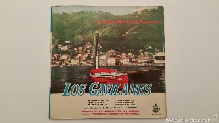 DISCO VINILO - LOS GAVILANES (Música - Discos - LP Vinilo - Clásica, Ópera, Zarzuela y Marchas)