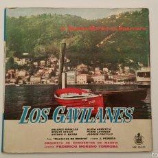 Discos de vinilo: DISCO VINILO - LOS GAVILANES. Lote 89419055