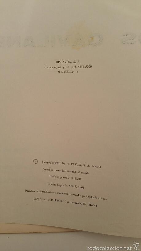 Discos de vinilo: DISCO VINILO - LOS GAVILANES - Foto 3 - 89419055