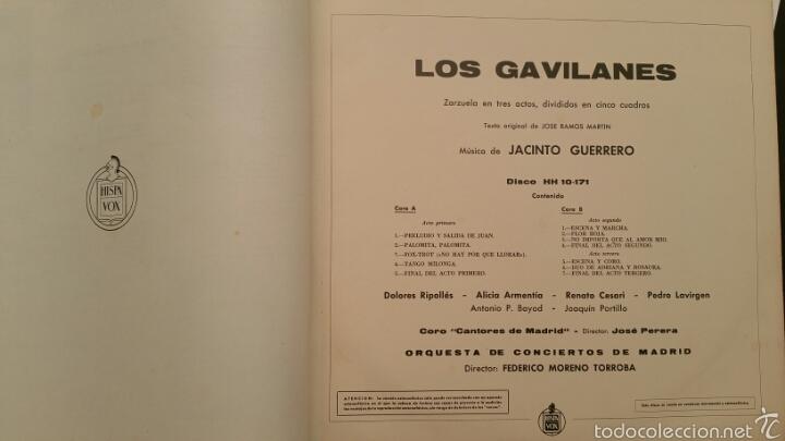 Discos de vinilo: DISCO VINILO - LOS GAVILANES - Foto 4 - 89419055