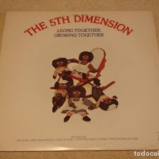 Discos de vinilo: THE 5TH DIMENSION ( LIVING TOGETHER, GROWING TOGETHER ) USA - 1973 LP33 BELL RECORDS. Lote 89438532