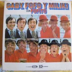 Discos de vinilo: LP - GABY, FOFO Y MILIKI CON FOFITO - MISMO TITULO (SPAIN, MOVIEPLAY 1974). Lote 89440648