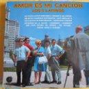 Discos de vinilo: LP - LOS 5 LATINOS - AMOR ES MI CANCION (SPAIN, DISCOS IMPACTO 1975). Lote 89441900