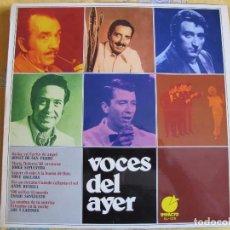 Discos de vinilo: LP - VOCES DEL AYER - BONET DE SAN PEDRO, JORGE SEPULVEDA, TONY DALLARA, ANDY RUSSELL, ETC.... Lote 89442060