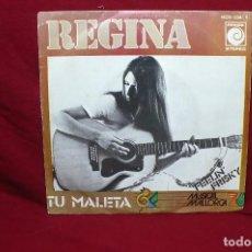Discos de vinilo: REGINA / TU MALETA / FEELIN' FRISKY / MUSICAL MALLORCA 76 / NOVOLA, PROMOCIONAL.. Lote 89456380