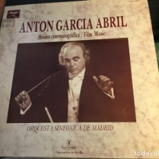 Discos de vinilo: ANTONIO GARCIA ABRIL (MUSICA CINEMATOGRAFICA) LP ESPAÑA 1987 (VIN-Q). Lote 89459564