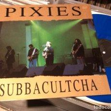 Discos de vinilo: PIXIES ?– SUBBACULTCHA - LP 1991 THE SWINGIN' PIG - LUXEMBOURG. Lote 89459624