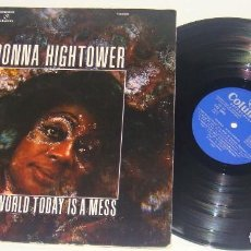 Discos de vinilo: LP - DONNA HIGHTOWER - THIS WORLD TODAY IS A MESS - GATEFOLD - SPAIN 1972. Lote 89468452