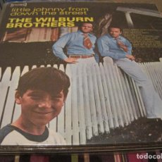 Discos de vinilo: LP-THE WILBURN BROTHERS LITTLE JOHN FROM DOWN THE STREET CORAL 21255 SPAIN 1970 COUNTRY. Lote 89473776