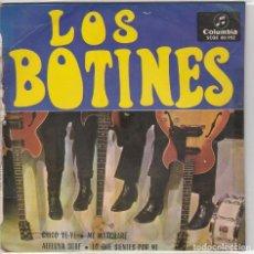 Discos de vinilo: LOS BOTINES / CHICO YE YE + 3 (EP 1965). Lote 89474644