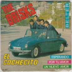 Discos de vinilo: THE BRISKS / EL COCHECITO + 3 (EP 1965). Lote 89474712