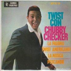 Discos de vinilo: CHUBBY CHECKER / LA PALOMA + 3 (EP 1963). Lote 89475248