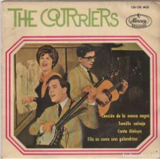 Discos de vinilo: THE COURRIERS / CANCION DE LA MOSCA NEGRA + 3 (EP 1964). Lote 89475656