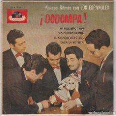 Discos de vinilo: LOS ESPAÑOLES / MI PEQUEÑO TREN + 3 (EP 1963). Lote 89476024