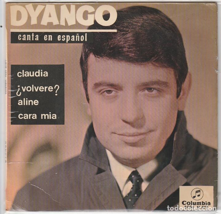 DYANGO / CLAUDIA + 3 (EP 1965) (Música - Discos de Vinilo - EPs - Solistas Españoles de los 50 y 60)