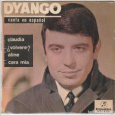 Discos de vinilo: DYANGO / CLAUDIA + 3 (EP 1965). Lote 89476484
