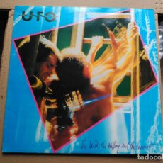 Discos de vinilo: LP UFO - THE WILD, THE WILLING AND THE INNOCENT - CHRYSALIS UK 1981 VG+. Lote 89479216