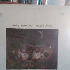 Discos de vinilo: SUMMERS & FRIPP EG208328-630 BEWITCHED LP EG RECORDS 1984 EDICIÓN ORGINAL CON PORTADA RUGOSA. Lote 89503403