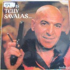 Discos de vinilo: LP - TELLY SAVALAS - THIS IS TELLY SAVALAS (SPAIN, DJM RECORDS 1975). Lote 89503884