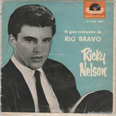 Discos de vinilo: RICK NELSON / JOVEN INFATIGABLE + 3 (EP 1959). Lote 89511744