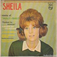 Discos de vinilo: SHEILA / DURANTE LAS VACACIONES + 3 (EP 1963). Lote 89512212