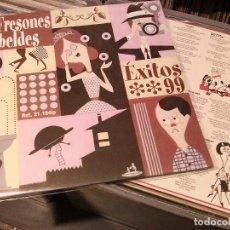 Discos de vinilo: LOS FRESONES REBELDES – ÉXITOS 99 - LP 1999. Lote 89516032