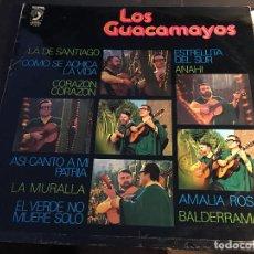 Discos de vinilo: LOS GUACAMAYOS LP 1977 ESPAÑA (VIN-R). Lote 89518404