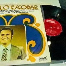 Discos de vinilo: MUSICA LP MANOLO ESCOBAR BRINDIS LA MINIFALDA. Lote 89519120