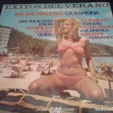 Discos de vinilo: EXITOS DEL VERANO - SUMMER HITS LP GRAMUSIC 1976 . SEXY COVER. Lote 89527600