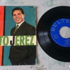 Discos de vinilo: PAQUITO JEREZ Y SU RITMO MODERNO: TÓMALO TODO + 3 (BELTER 1963). Lote 89531976