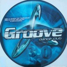 Disques de vinyle: GROOVE DANCE CLUB. GROOVE 3.0. HALLELUJAH.MAXI SINGLE. PICTURE DISC. DISCO IMPRESO. Lote 89535112