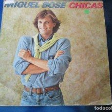 Discos de vinilo: LP-MIGUEL BOSÉ-CHICAS-CBS-11 TEMAS-1979-VER FOTOS.. Lote 89548640