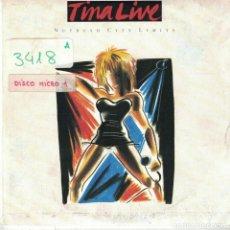 Disques de vinyle: TINA TURNER - NUTBUSCH CITY LIMITS / OVERNIGHTS SENSATION (SINGLE ESPAÑOL, CAPITOL 1988). Lote 89551088