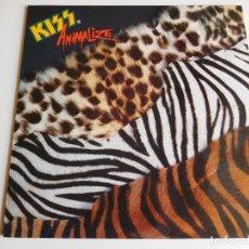 Discos de vinilo: KISS. LP. ANIMALIZE. EDICIÓN ESPAÑOLA. FONOGRAM 1984. Lote 89565360