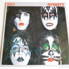 Discos de vinilo: KISS. LP. DINASTY. EDICIÓN FRANCESA. CASABLANCA 1979 + BOOKLET. Lote 89565944